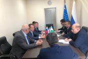 Встреча с делегацией из Узбекистана